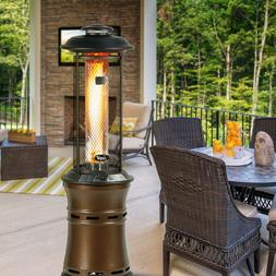 BALI OUTDOORS Commercial LP GAS Propane Patio Heater Retract