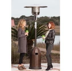 Patio Heater All Weather Wicker Tank Cover Outdoor 46000 Btu