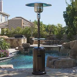 Belleze© Patio Heater Propane with Adjustable Table, Ha