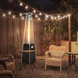 Patio Pyramid Heater Outdoor Garden Propane Gas Flame Heatin