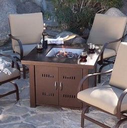 Patio Fire Pit- Premium Outdoor Fire Pit Table Patio Deck Ba