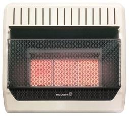 ProCom Plaque 30,000-BTU Vent-Free LP Gas Wall Heater