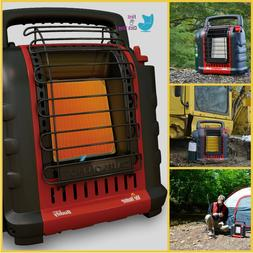 Portable Heater Fold Down Handle Compact Powered By Propane
