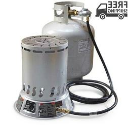 Portable Propane Convection Heater 25,000 BTU Quiet Odorless