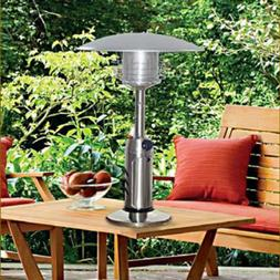 Portable Tabletop Patio Propane Heater Garden Outdoor 11,000