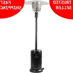 🔥AmazonBasics Propane 46,000 BTU Outdoor Patio Heater Hav