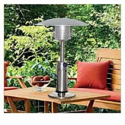 Patio Heater Stainless Steel Tabletop Propane Camping Hiking