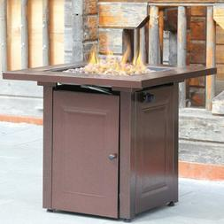 BestMassage Propane Fire Pit Patio Heaters Antique Hammered