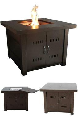Propane Fire Pits Outdoor Gas Fireplace Heater Table Patio D