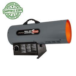 Propane Forced Air Heater Natural Gas Portable BTU Garage Sh