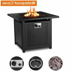 Propane Gas Fire Pit Patio Heater Yard Outdoor Table 50000BT