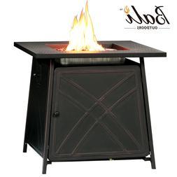 BALI OUTDOORS Propane Gas Fire Pit Table 50,000BTU Patio Hea