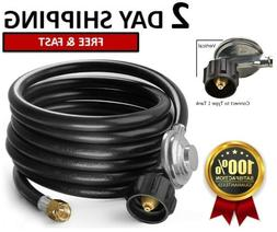 SHINESTAR 12 Ft Propane Gas Grill Regulator with LP/LPG Hose