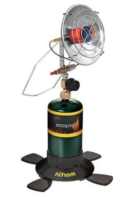 propane parabolic camping heater