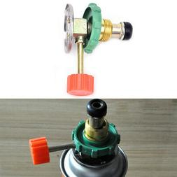 Propane Refill Adapter Gas Cylinder Tank Coupler Heater for