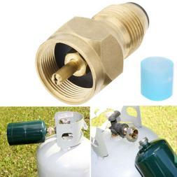 Propane Refill Adapter Lp Gas 1 Lb Cylinder Tank Coupler Hea