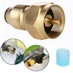 Propane Refill Adapter Lp Gas Cylinder Tank Coupler Heater c