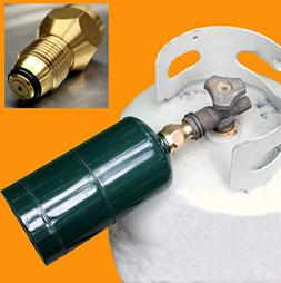 Simply Silver - Propane Refill Adapter Lp Gas Cylinder Tank