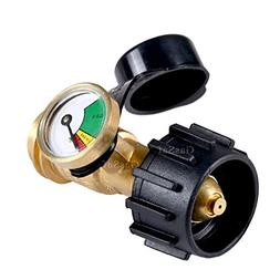 GasSaf Propane Tank Gas Gauge Leak Detector - Universal for