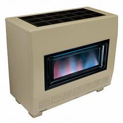 Empire RH50B 50,000 BTU Visual Flame Vented Propane Heater w