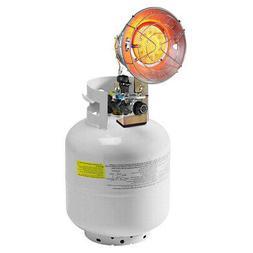 Single Tank Top Heater 15,000 BTU Liquid Propane Heater Port