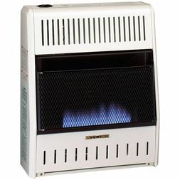 space heater blue flame propane