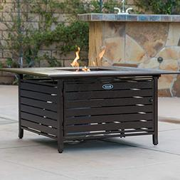 square home fire pit gas