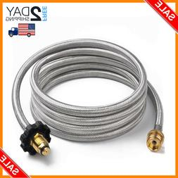 Stainless Steel Braided Propane Hose Adapter Propane Convert