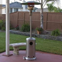 Stainless Steel Outdoor Patio Heater Propane LP Gas Commerci