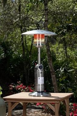 Fire Sense Stainless Steel Table Top Patio Heater , Patio He
