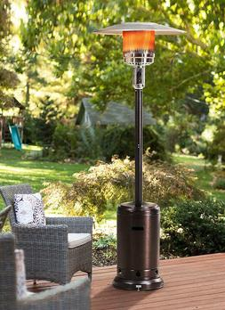 sunjoy lawrence floor standing patio heater 88