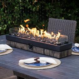 Table Top Fire Pit Outdoor Patio Heater Fireplace Decorative