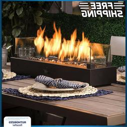 Tabletop Gas Fire Pit Patio Table Top Propane Outdoor Firepl