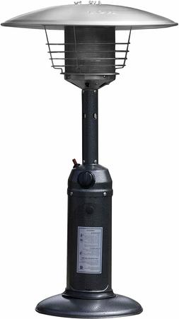 Hiland Tabletop Patio Heater Hammered Silver HLDS032-C 11000