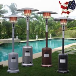 US Garden Outdoor Patio Heater Propane Standing LP Gas Steel