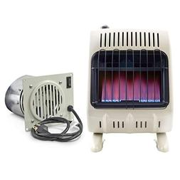 Mr. Heater 20K Vent-Free Blue Flame Natural Gas Heater  and