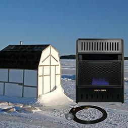 ProCom Vent-Free Propane Ice House Heater -10,000 BTU, 300