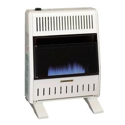 VENTLESS WALL HEATER Indoor Manual Liquid Propane Gas Blue F