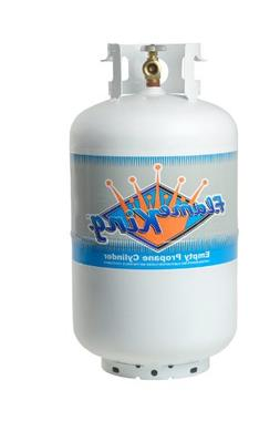vertical cylinder refillable propane steel