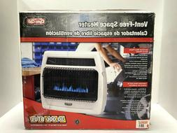 Wall Heater 30000BTU Blue Flame Vent Free Liquid Propane The