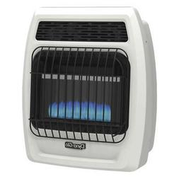 Wall Heater Liquid Propane 10000 BTU Blue Flame Vent Free Th