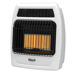 Wall Heater Liquid Propane 18,000 BTU Infrared Vent Free The